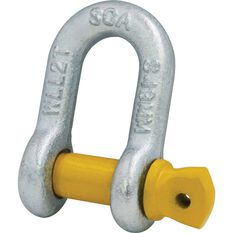 SCA D-Shackle - Rated to 2000kg, 13mm, , scaau_hi-res