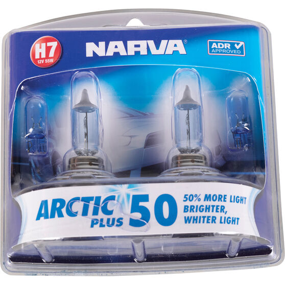 Narva Arctic Plus 50 Headlight Globe - H7, 12V, 55W, , scaau_hi-res