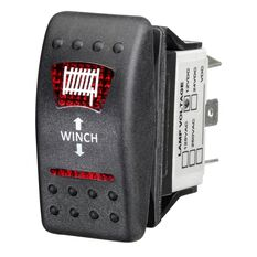 Ridge Ryder Sealed Rocker Switch - In / Out, Winch, , scaau_hi-res
