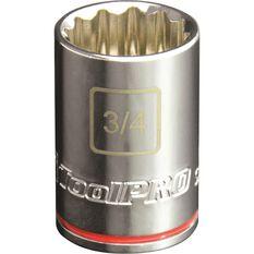 "ToolPRO Single Socket 1/2"" Drive 3/4"", , scaau_hi-res"