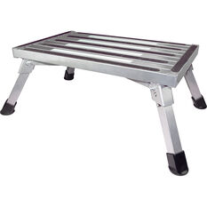 SCA Caravan Folding Step, Aluminium - Large, , scaau_hi-res