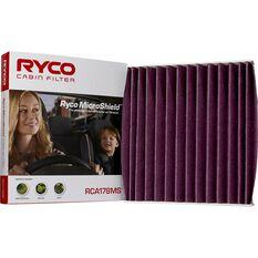 Ryco Cabin Air Filter Microshield - RCA178MS, , scaau_hi-res