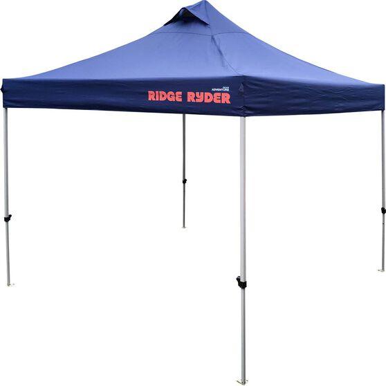 Ridge Ryder Deluxe Gazebo - Blue, 3 x 3m, , scaau_hi-res