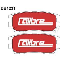 Calibre Disc Brake Pads DB1231CAL, , scaau_hi-res