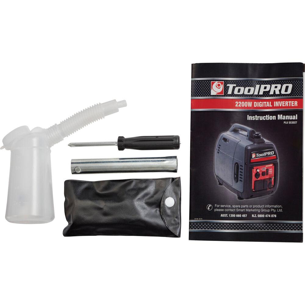 ToolPRO Inverter Generator - 2200W   Supercheap Auto