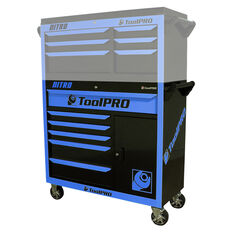 Neon Tool Cabinet - 6 Drawer, Roller Cabinet, 42, Nitro, , scaau_hi-res