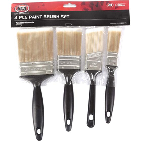 SCA Paint Brush Set - 4 Pieces, , scaau_hi-res