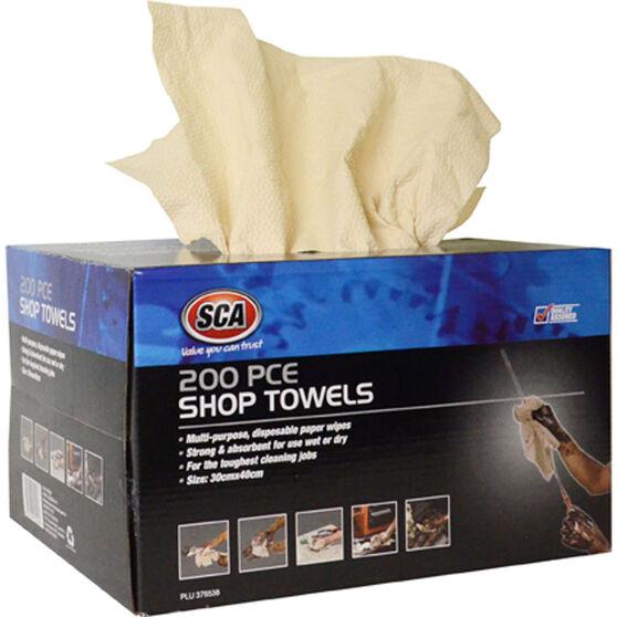 SCA Shop Towels - 200 Pack, , scaau_hi-res
