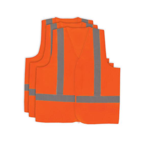 Hi Vis Vest - Orange 3 Pack M, , scaau_hi-res