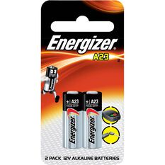 Speciality Alkaline Battery - A23, 2 Pack, , scaau_hi-res