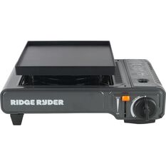 Ridge Ryder Butane Stove - Single Burner, Dual Safety Cut Off, , scaau_hi-res