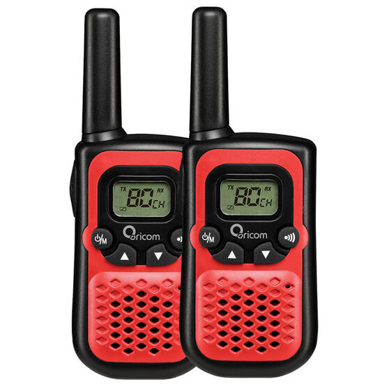 Oricom UHF CB Radio - 0.5W, 2 Pack, PMR780RD, , scaau_hi-res