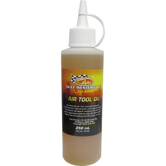 Gulf Western Air Tool Oil 250mL, , scaau_hi-res