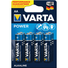 Varta Power Battery - AA, 8 Pack, , scaau_hi-res