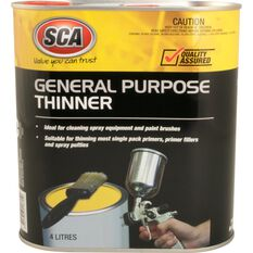 SCA 4 Litre General Purpose Paint Thinner, , scaau_hi-res