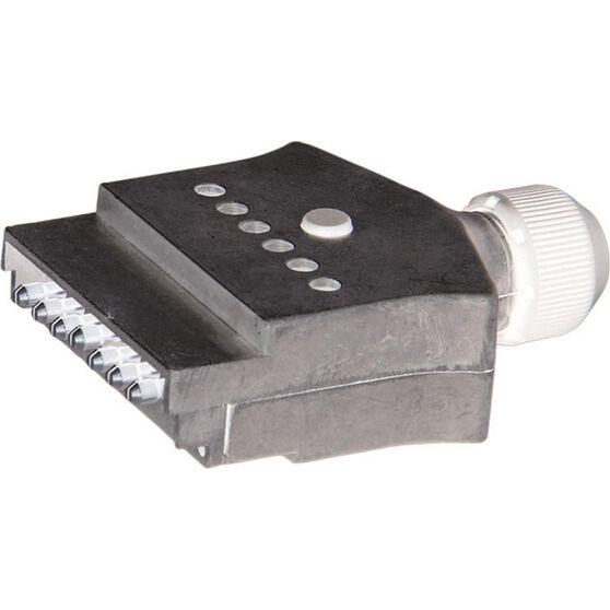 KT Cable Trailer Plug,  Flat, Metal, LED - 7 Pin, , scaau_hi-res