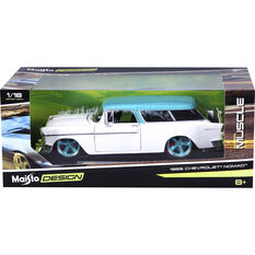 Die Cast 1955 Chevrolet Nomad - 1:18 Scale Model, , scaau_hi-res