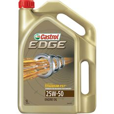 Castrol EDGE Engine Oil - 25W-50, 5 Litre, , scaau_hi-res