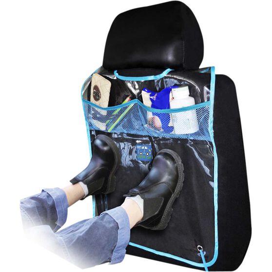 Scuff Protector - Blue, Backseat, , scaau_hi-res