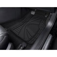 SCA Blaze Floor Mats - Rubber, Black, Set of 4, , scaau_hi-res