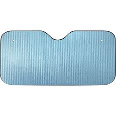 SCA Bubble Sunshade - Matte Blue, Accordion, Front, , scaau_hi-res