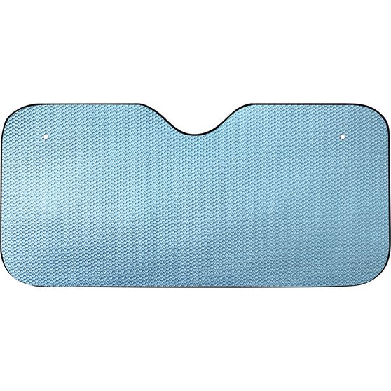 SCA Bubble Sunshade - Matte Blue, Accordion, Front, , scaau_hi-res