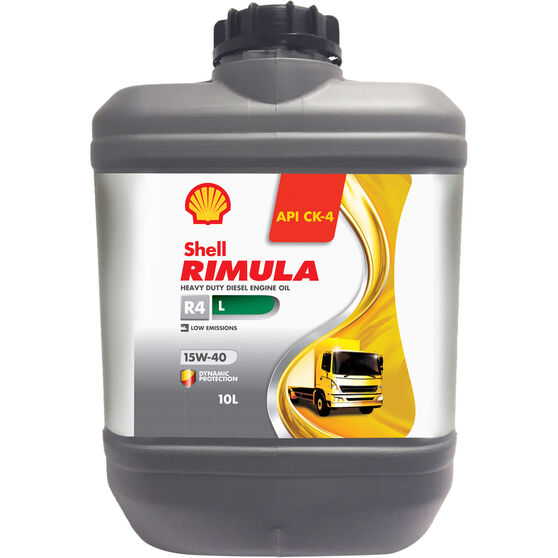 Shell Rimula R4L CK-4 Diesel Engine Oil - 15W-40 10 Litre, , scaau_hi-res