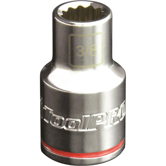ToolPRO Single Socket -  1 / 2 inch Drive, 3 / 8 inch, , scaau_hi-res