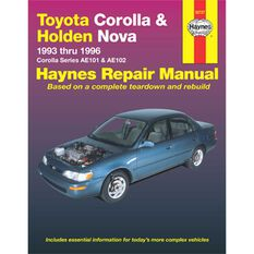 Haynes Car Manual For  Toyota Corolla 1993-1996 - 92727, , scaau_hi-res