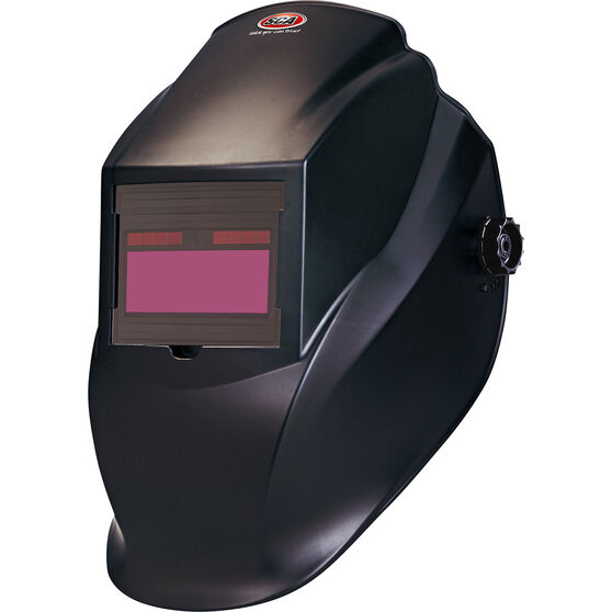 SCA Welding Fixed Auto Shade Helmet - Shade 11, Black, , scaau_hi-res