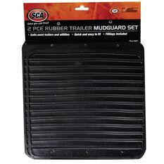 SCA Rubber Trailer Mudguards - Pair, , scaau_hi-res
