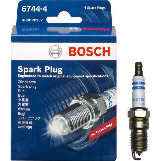 Bosch Spark Plug - 6744-4, 4 Pack, , scaau_hi-res
