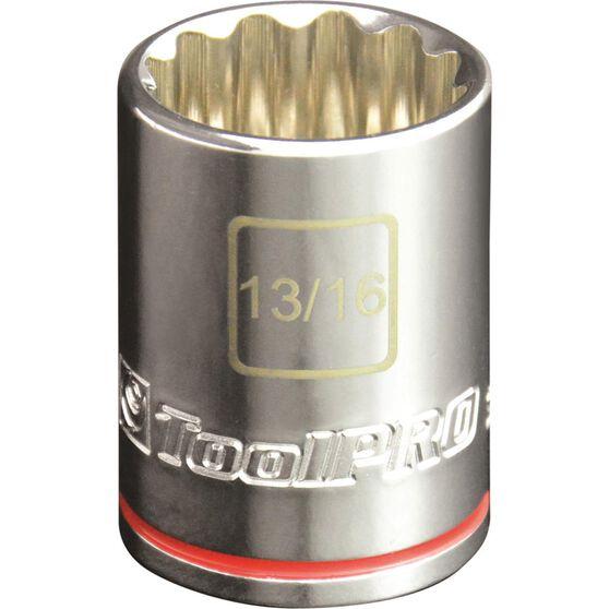 ToolPRO Single Socket - 1 / 2 inch Drive, 13 / 16 inch, , scaau_hi-res