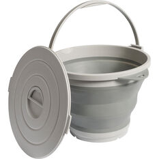 Ridge Ryder Collapsible Round Tub - 9 Litre, , scaau_hi-res