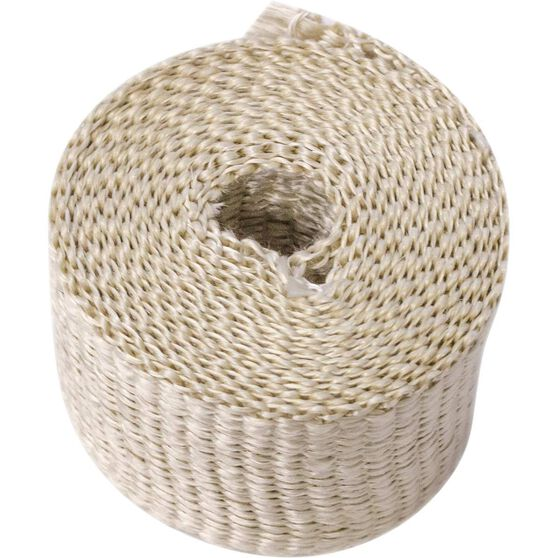 Exhaust Wrap Fawn 2 Wide X 10Ft Long, , scaau_hi-res