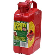 Metal Jerry Can - Petrol, 5 Litre, Red, , scaau_hi-res