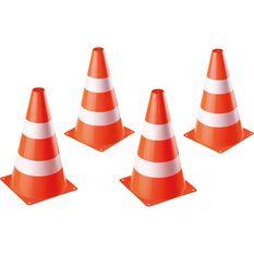 Traffic Cones 4 Pieces, , scaau_hi-res