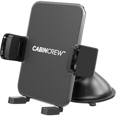 Cabin Crew Phone Holder - Suction Mount, Expander, Black, , scaau_hi-res