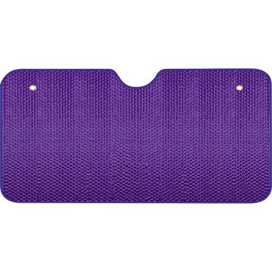 SCA Bubble Sunshade Purple Accordion Front, , scaau_hi-res