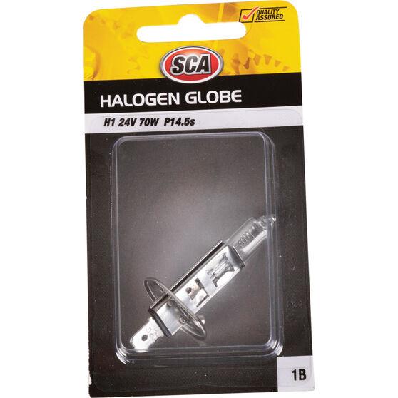 SCA Headlight Globe - H1, 24V, 70W, , scaau_hi-res