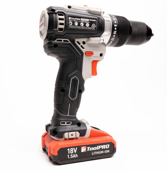 ToolPRO 18V Brushless Hammer Drill, , scaau_hi-res
