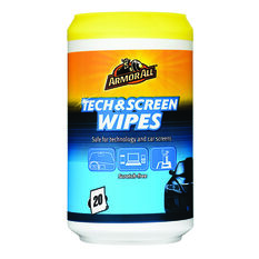 Armor All Tech and Screen Wipes - 20 Pack, , scaau_hi-res