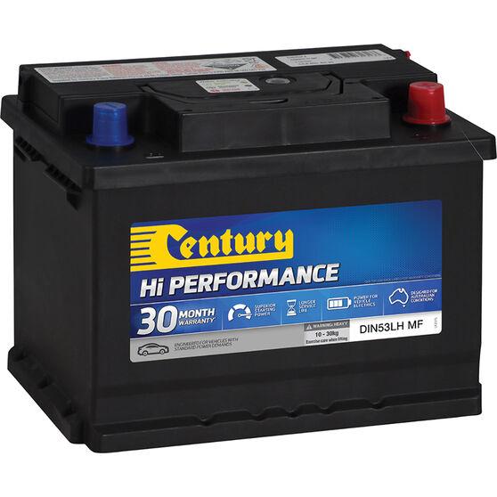 Century Hi Performance Car Battery DIN53LH MF, , scaau_hi-res