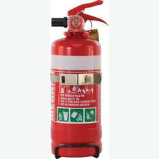 MegaFire 1kg Fire Extinguisher - Metal Bracket, ABE, , scaau_hi-res