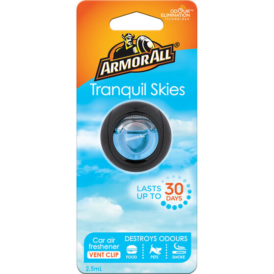 Armor All Vent Air Freshener Tranquil Skies 2.5mL, , scaau_hi-res