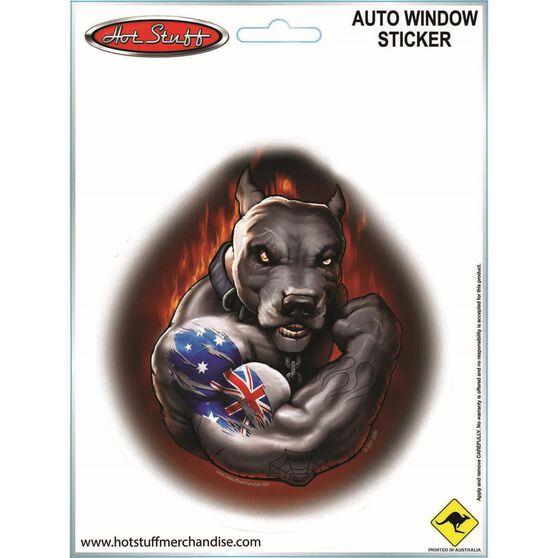 Sticker Aussie Muscle Bulldog SH2778, , scaau_hi-res