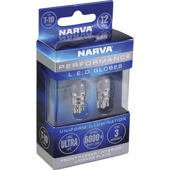 Narva LED Wedge - T10, 12V, , scaau_hi-res