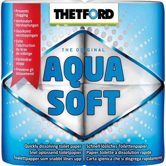 Thetford Toilet Paper - Dissolving, 4 Pack, , scaau_hi-res