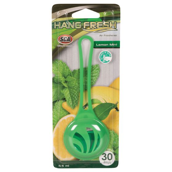 SCA Hanging Air Freshener - Fresh Lemon Mint, , scaau_hi-res