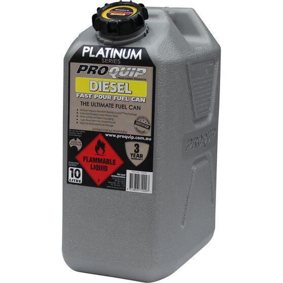 Pro Quip Platinum Diesel Jerry Can - 10 Litre, , scaau_hi-res